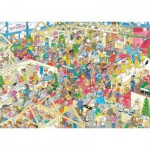 Puzzle  Jumbo-17453 Van Haasteren Jan: Winter Messe