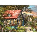 Puzzle  Jumbo-18529 XXL Teile - Garden Shed