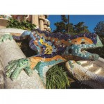Puzzle  Jumbo-18540 Parque Guell, Barcelona