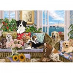 Puzzle  Jumbo-18849 Premium Collection - Furry Friends
