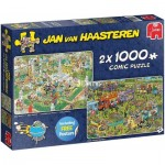2 Puzzles - Jan Van Haasteren - Grillparty!