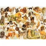 Puzzle   Collection mit Dogs Poster