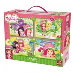 4 Puzzles - Strawberry Shortcake