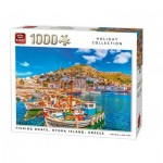 Puzzle   Fishing Boats, Hydra Island, Griechenland