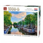Puzzle   Prinsengracht Canal Amsterdam