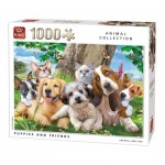 Puzzle   Puppies and Friends