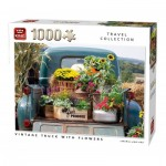 Puzzle   Vintage Truck with Flowers