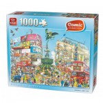 Puzzle  King-Puzzle-05082 Comic Collection - Piccadilly Circus