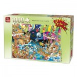 Puzzle  King-Puzzle-05222 Robert Crisp - Boston Tea Party