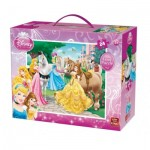 King-Puzzle-05271 Riesen-Bodenpuzzle - Disney Princess