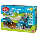 Puzzle  King-Puzzle-05523 Police Rescue Team