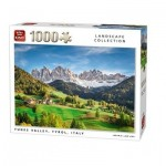 Puzzle  King-Puzzle-05708 Funes Valley, Tyrol, Italien