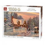 Puzzle  King-Puzzle-05742 Old Christmas Cottage