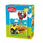 Puzzle  King-Puzzle-05775-D Funny Vehicles