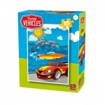 Puzzle  King-Puzzle-05775-E Funny Vehicles