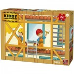 Puzzle  King-Puzzle-55836 Kiddy Construction - Painters