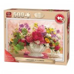 Puzzle  King-Puzzle-55879 XXL Teile - Language of Flowers