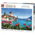 Puzzle  King-Puzzle-55941 Lake Thun, Bern, Switzerland