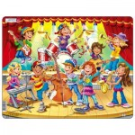 Larsen-US42 Rahmenpuzzle - Kids Band