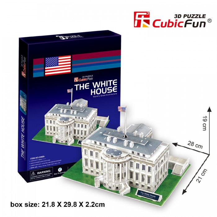 cubic-fun-puzzle-3d-washington-weisses-haus