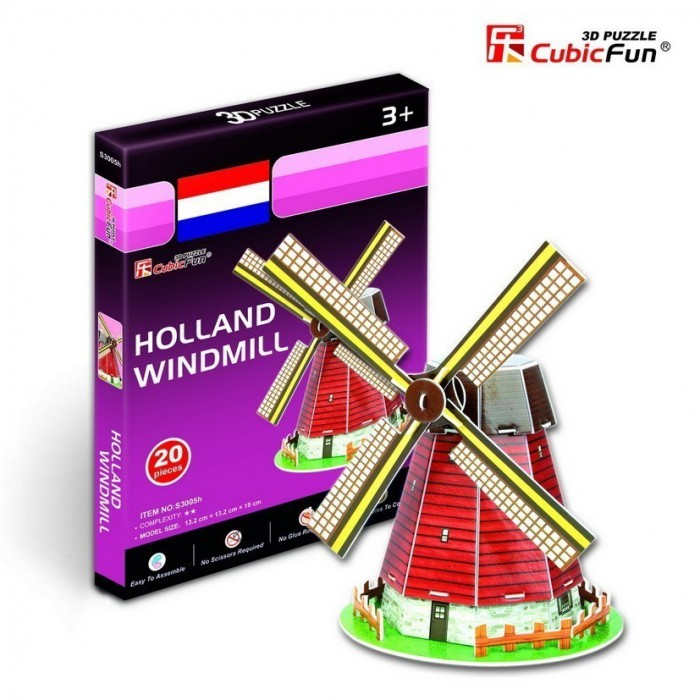 cubic-fun-puzzle-3d-mini-windmuhle-holland
