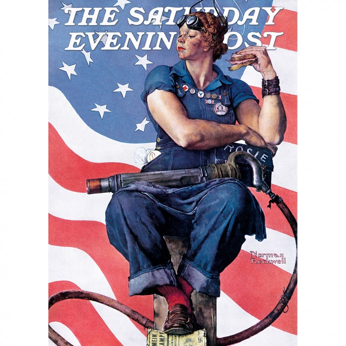 master-pieces-norman-rockwell-rosie-the-riveter