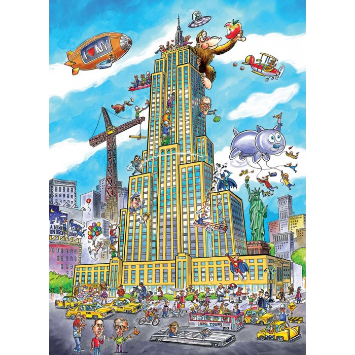 cobble-hill-outset-media-doodletown-empire-state, 14.95 EUR @ planet-puzzles-deutschland