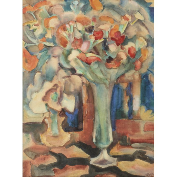 grafika-leo-gestel-still-life-with-flowers-in-a-glass-vase-1917