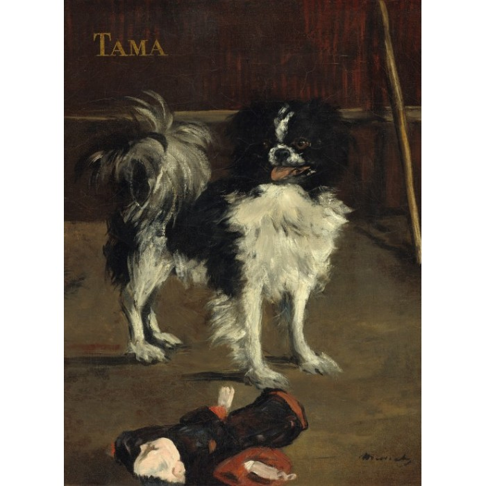grafika-edouard-manet-tama-the-japanese-dog-1875