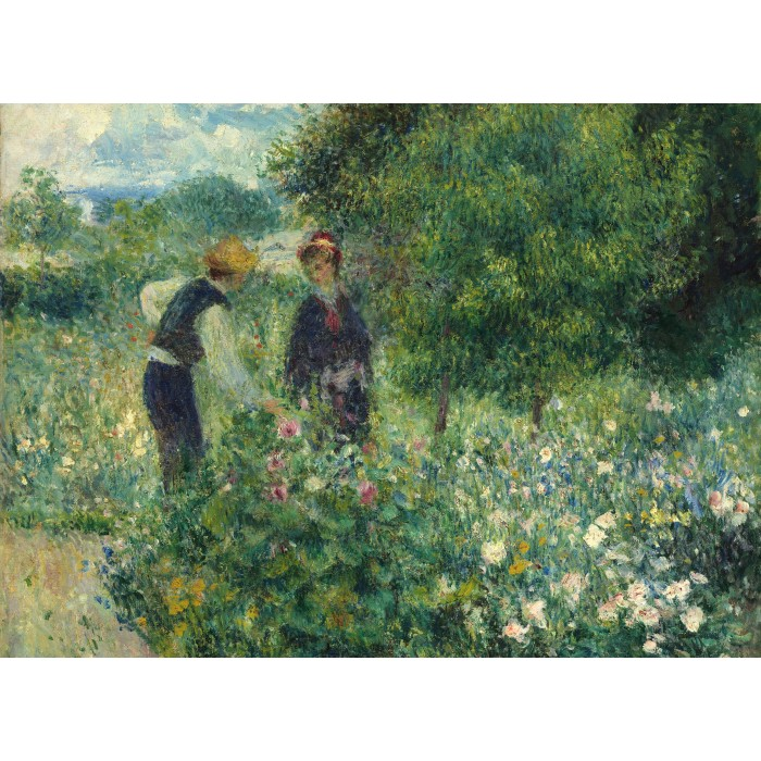 grafika-auguste-renoir-picking-flowers-1875