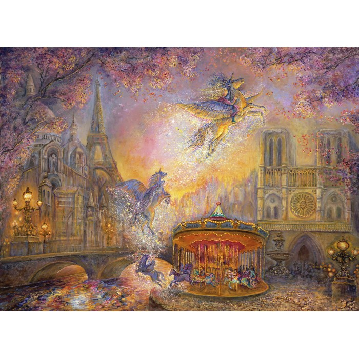 grafika-josephine-wall-magical-merry-go-round, 24.95 EUR @ planet-puzzles-deutschland