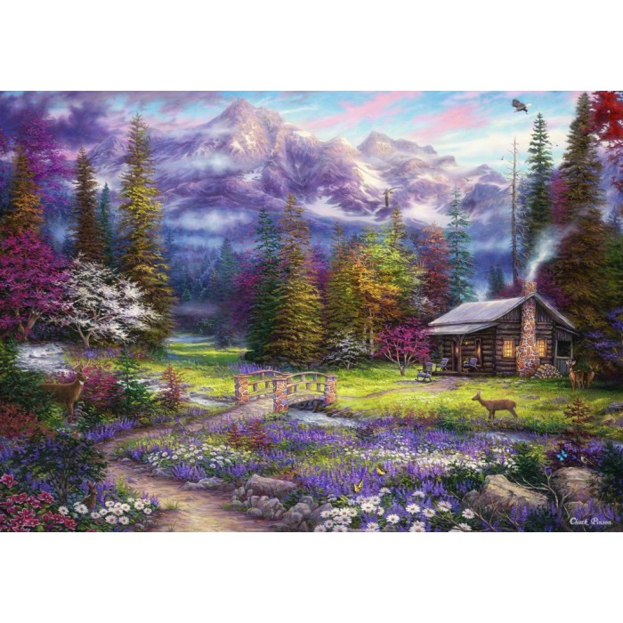 grafika-chuck-pinson-inspiration-of-spring-meadows, 9.95 EUR @ planet-puzzles-deutschland