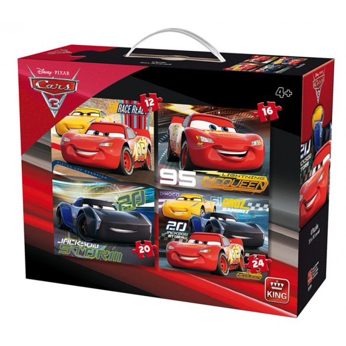 king-international-4-puzzles-cars-3