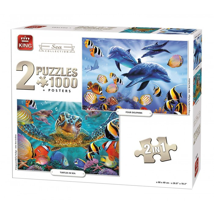 king-international-2-puzzles-sea-collection