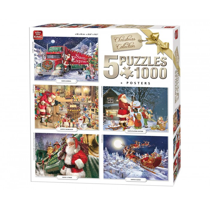king-international-5-puzzles-weihnachten
