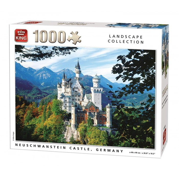 king-international-neuschwanstein, 8.95 EUR @ planet-puzzles-deutschland