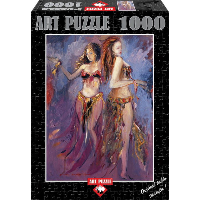 art-puzzle-belly-dancer