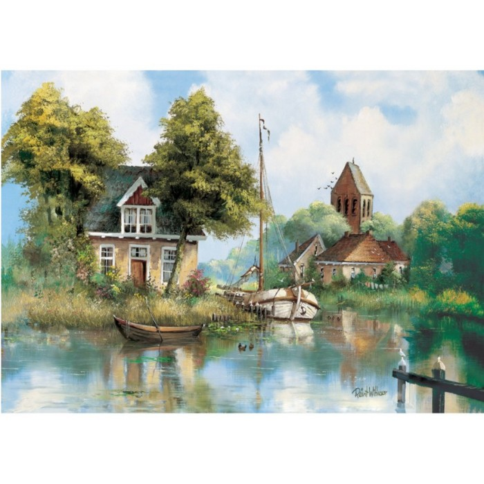 art-puzzle-back-home