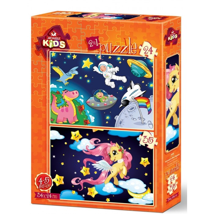 art-puzzle-2-puzzles-the-astronaut-and-the-baby-pegasus