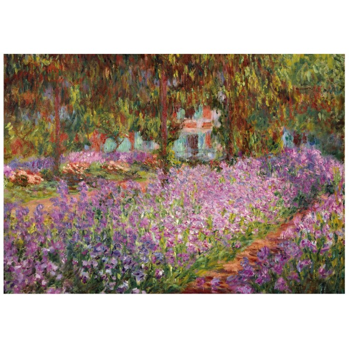 wentworth-holzpuzzle-claude-monet-the-artist-s-garden-in-giverny