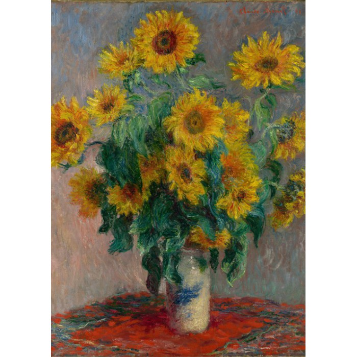 grafika-kids-magnetische-teile-claude-monet-bouquet-of-sunflowers-1881