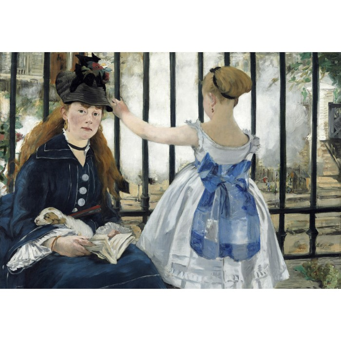 grafika-kids-edouard-manet-the-railway-1873