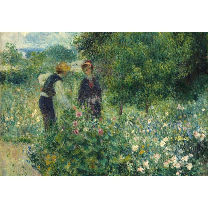 grafika-kids-auguste-renoir-picking-flowers-1875, 9.95 EUR @ planet-puzzles-deutschland