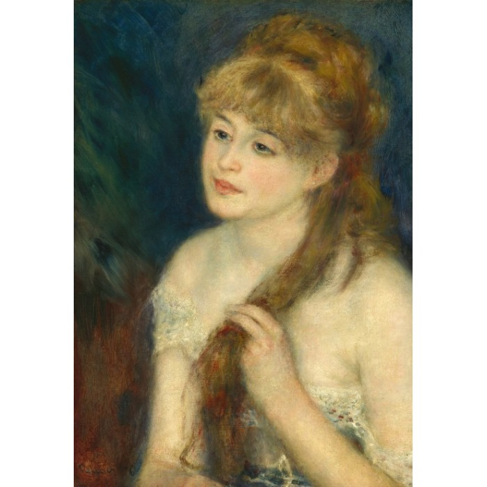 grafika-kids-auguste-renoir-young-woman-braiding-her-hair-1876