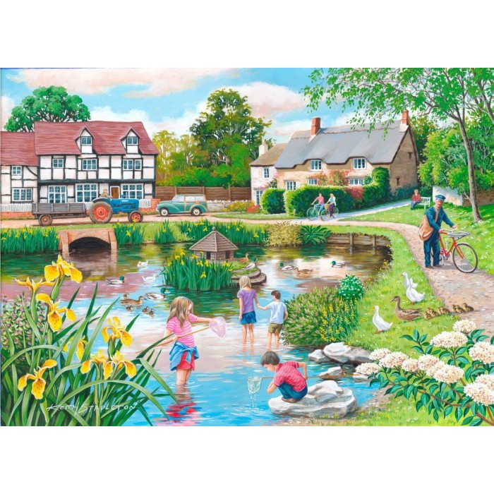 the-house-of-puzzles-xxl-teile-duck-pond