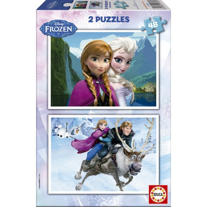 educa-2-puzzles-disney-eiskonigin-frozen