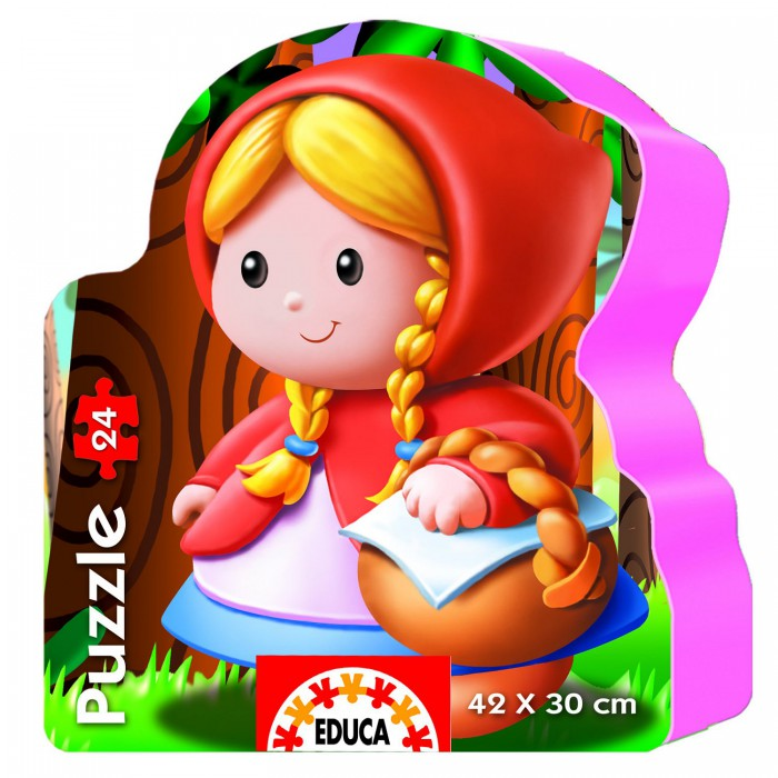 educa-24-teile-formpuzzle-rotkappchen