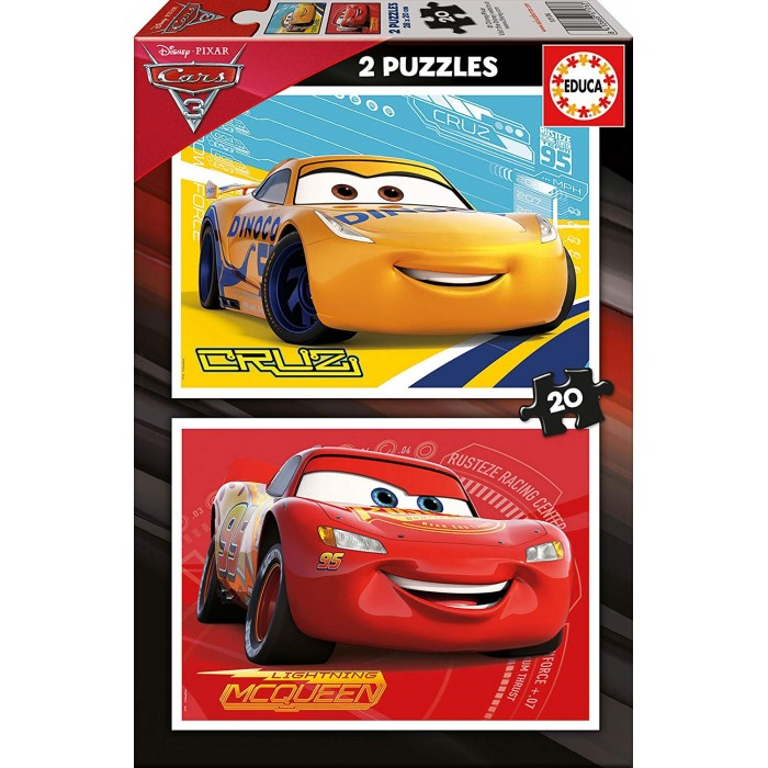 educa-2-puzzles-cars, 3.79 EUR @ planet-puzzles-deutschland