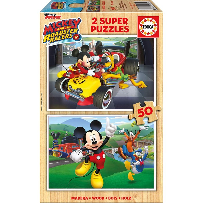 educa-2-holzpuzzles-mickey-and-the-roadster-racers