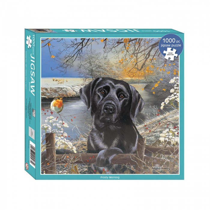 otter-house-puzzle-black-labrador-frosty-morning